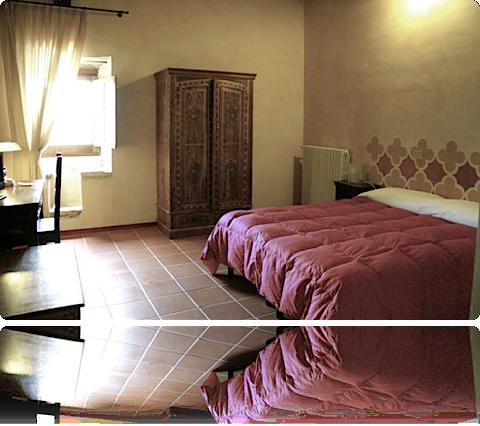 Camera della Fortezza Monastero di Santo Spirito proposta per il week end di San Valentino