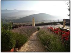 Monastero Fortezza di Santo Spirito - vista panoramica dal terrazzo