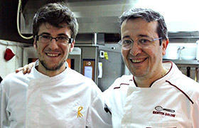 Chef Spadone e il suo team in Monastero Location per Matrimoni